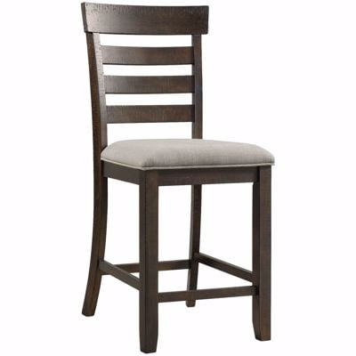 "Picture of Colorado 24"" Upholstered Seat Barstool"