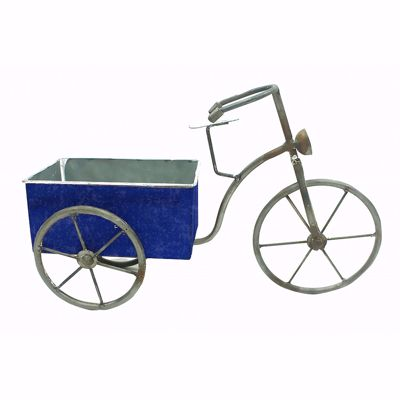 Picture of Navy Blue Bike Planter
