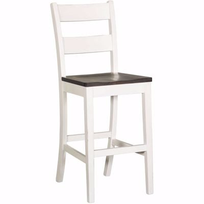 "Picture of Bourbon Two-Tone 30"" Barstool"
