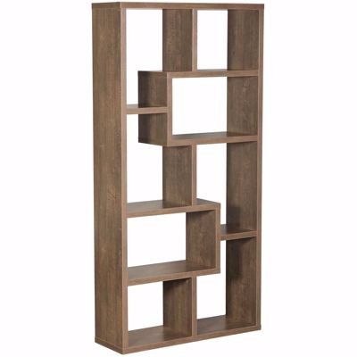 """Picture of Walnut Oak """"Puzzle"""" Display Cube"""