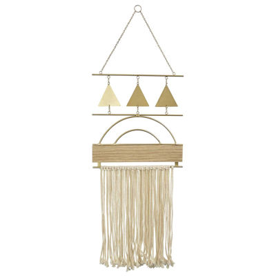 Picture of METAL MACRAME WALL DECOR