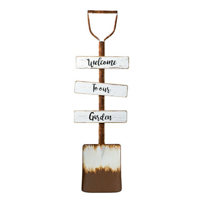 Picture of Metal Shovel Sign