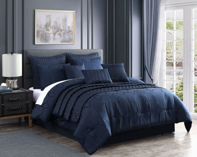 Picture of Danielle 10 Piece Queen Comforter Set