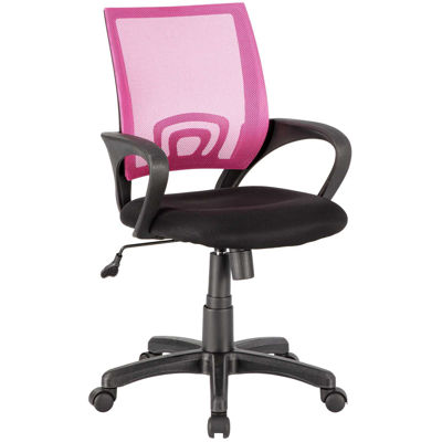 Picture of Office Chair Pink Mesh/Fabric
