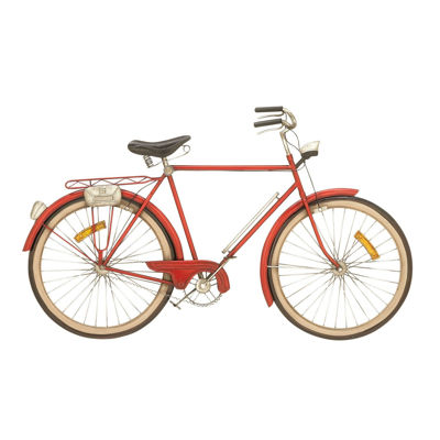 Picture of Red Bicycle Wall Decor