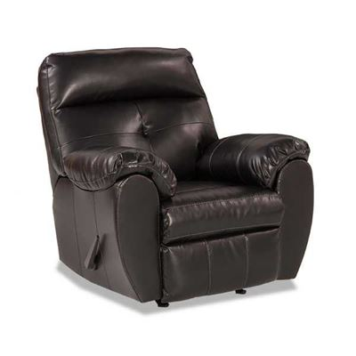 Picture of Midnight Bonded Leather Rocker