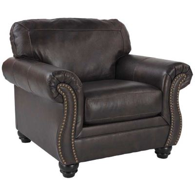 Charming Bristan Leather Chair