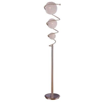 Picture of Chrome Wire Ball Floor Lamp