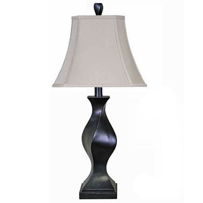 "Imagen de 31"" Espresso Twist Table Lamp"