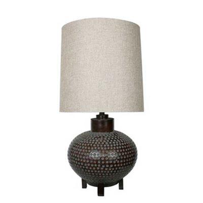 Imagen de Hammered Copper Table Lamp