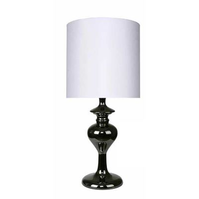 "Picture of 17"" Gun Metal Accent Lamp"