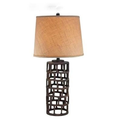 Picture of Industrial Grid 27in Table Lamp