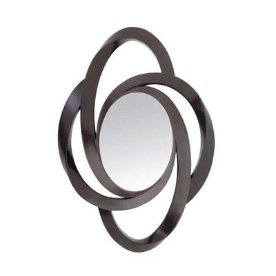 Picture of Wenge Open Swirl Mirror