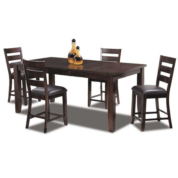 Abaco Counter Height 5 Piece Dining Set
