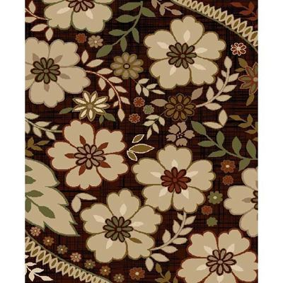 Picture of Floral Easy Clean Rug