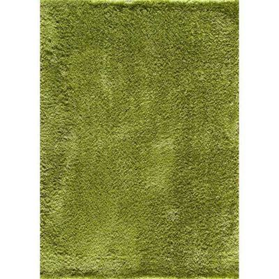 Picture of Serene Shag Green Rug 5x7