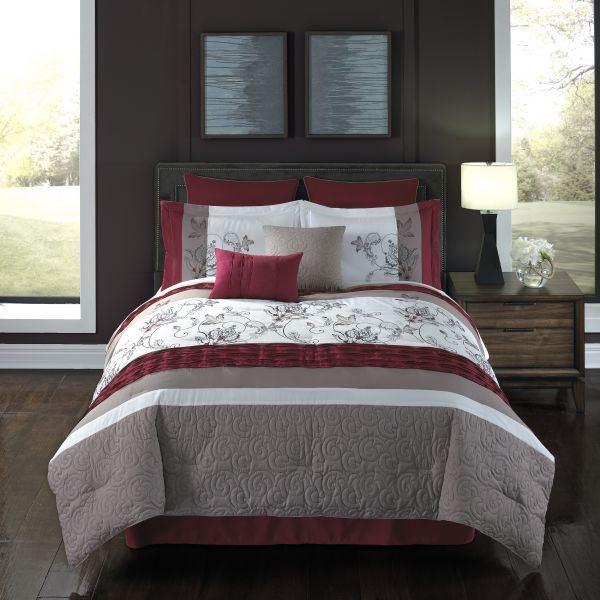 Picture of Eloise 8pc Queen Comforter Set