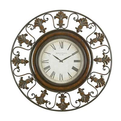 "Picture of 38"" Metal Wall Clock"