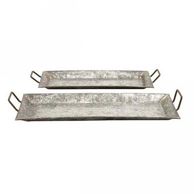 Picture of Galvanized Set of Metal Trays