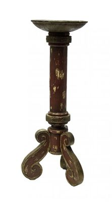 Picture of Red Tripod Candleholder