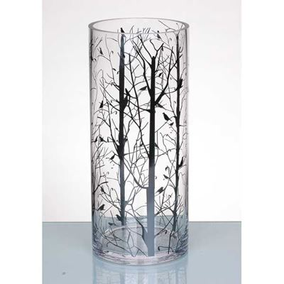 Picture of Black Bird Vase