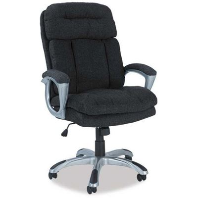 Picture of Black Fabric Office Chair