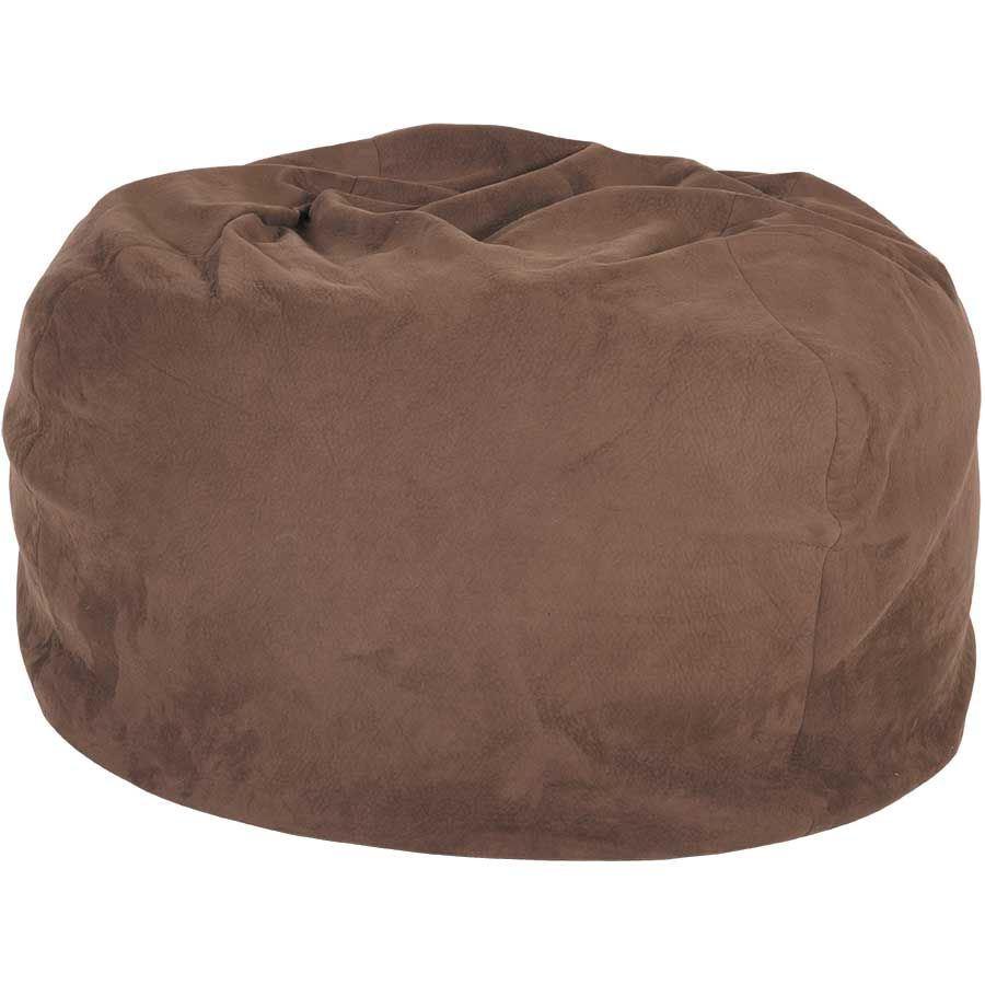 Brown Memory Foam Lounge Bag