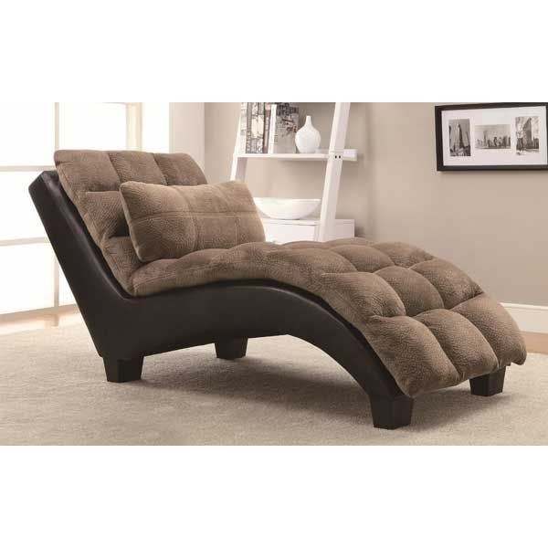 550008 1b 5500 ziv 2tone chaise coaster company of america for Coaster co of america furniture