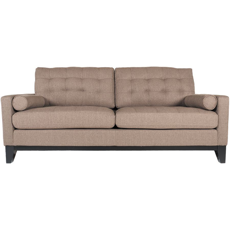 Picture Of Nona Brown Tufted Sofa