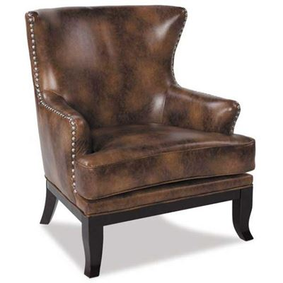 Picture of Charlene Brown Durahide Accent Chair
