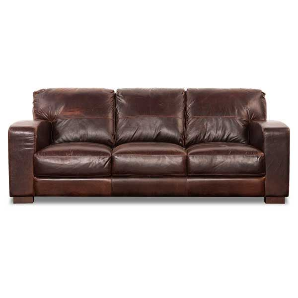Aspen All Leather Sofa