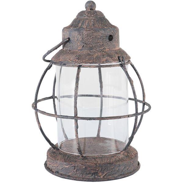 Foto para Rustic Metal Lantern