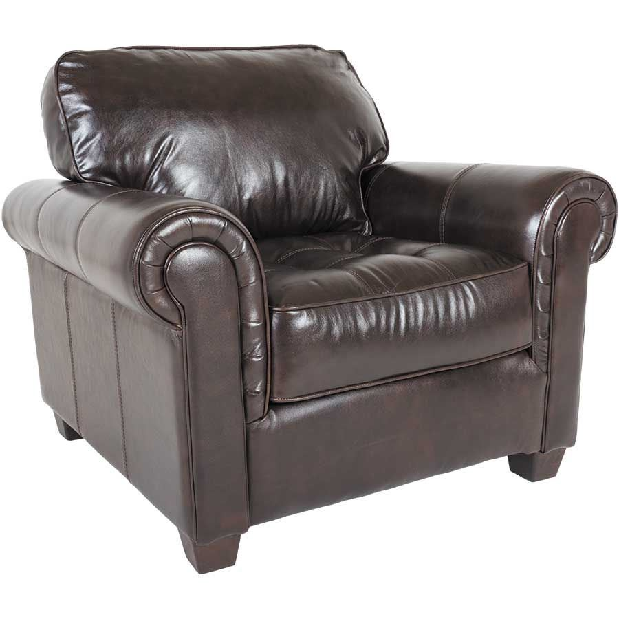 Cabernet Italian All Leather Chair 1Q-4794C
