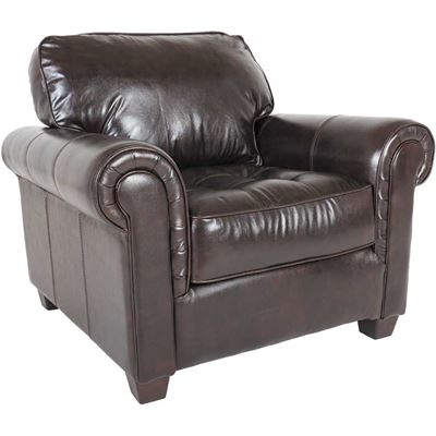 Imagen de Cabernet Italian All Leather Chair
