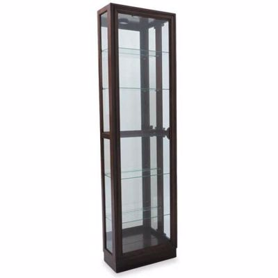 Imagen de 5 Shelf Curio Chocolate Cherry