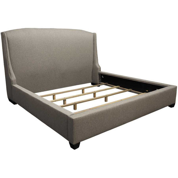picture of sugar shack upholstered queen bed - Upholstered Queen Bed