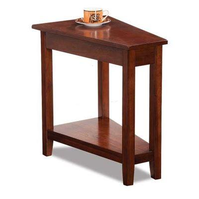 Imagen de Pie Birch Cherry Chairside Table