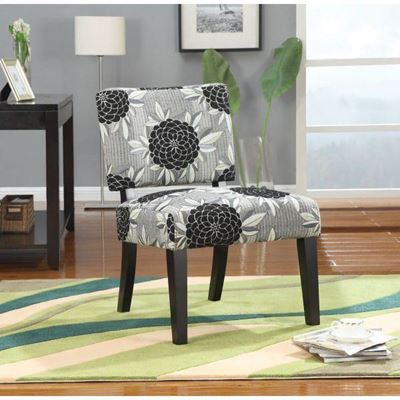 Picture of Accent Chair, White/Grey/Bl *D