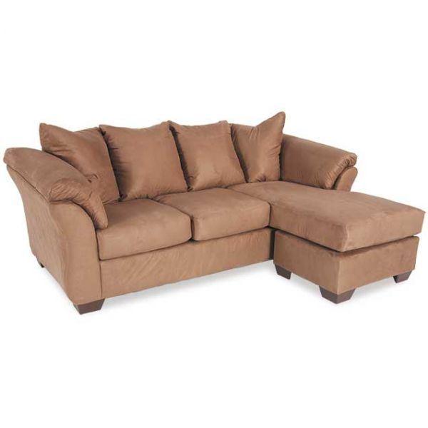 Darcy Cocoa Reversible Sofa Chaise