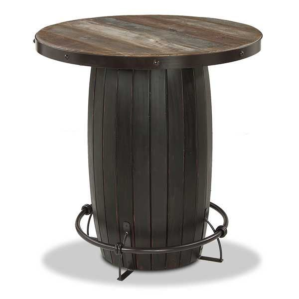 Charmant Barrel Base Bistro Table