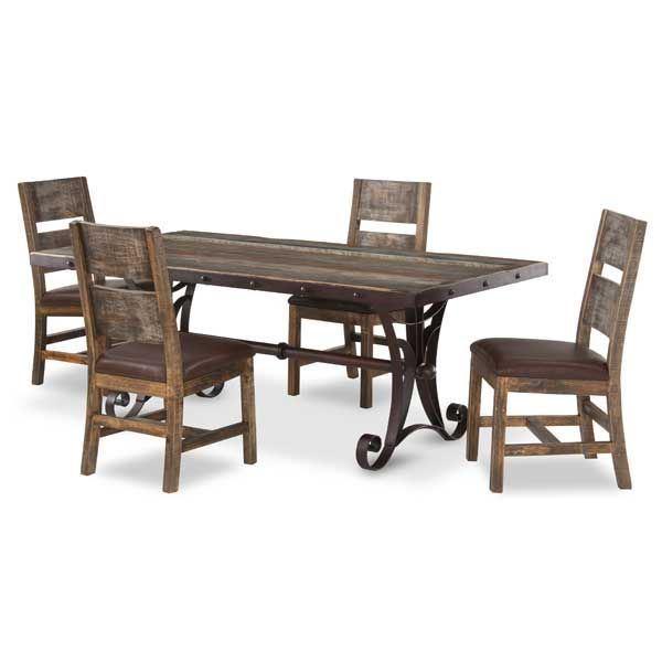 Antique 5 Piece Dining Set