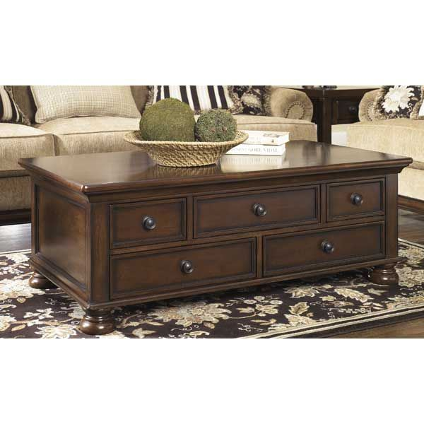 Porter Round Coffee Table: Porter Cocktail Table T697-20