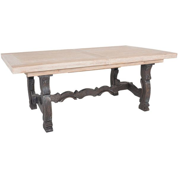 barcelona extension table   d551-tbl   emerald home   afw