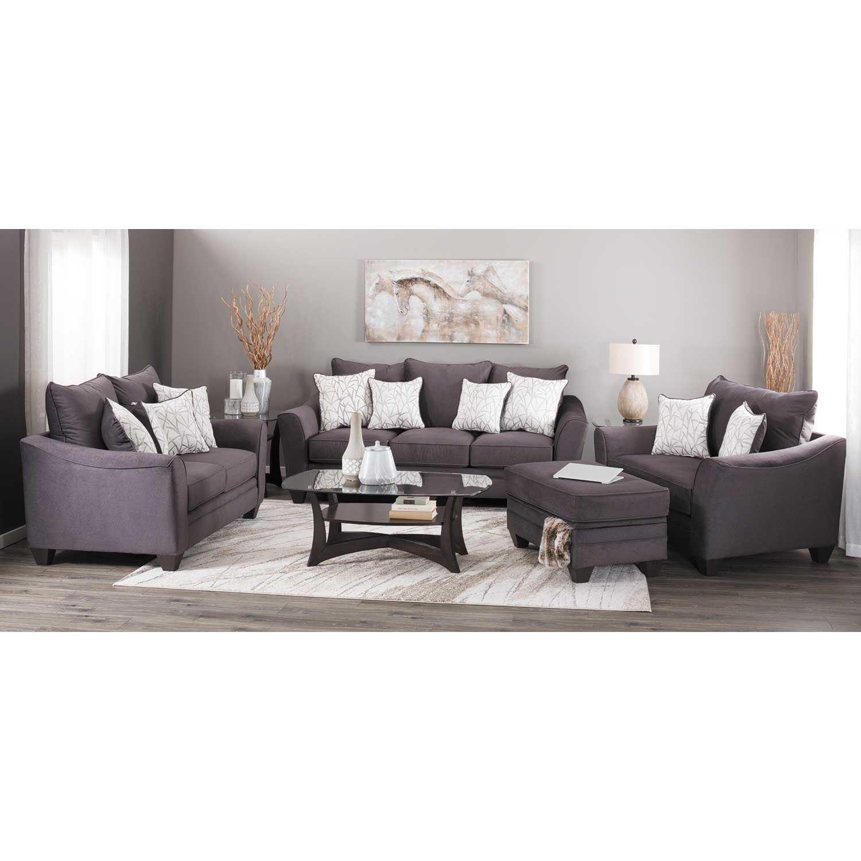 Flannel Seal Sofa G 3853 AFW