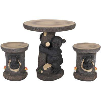 Imagen de Bear 3 Piece Garden Patio Set
