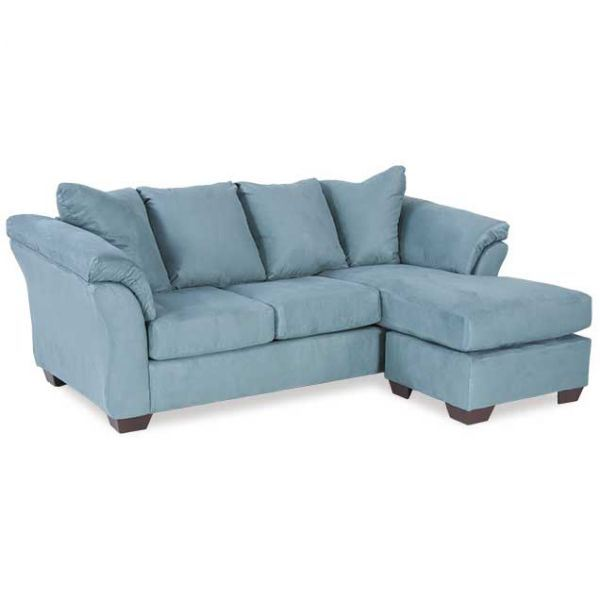 Blue reversible sofa chaise v5 750sc ashley furniture afw for 750 sofa chaise