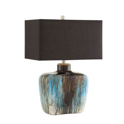 Picture of Table Lamp, Silver/Blue *D