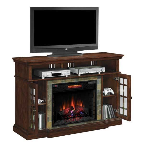 Lakeland Media Electric Fireplace 307SET Classic Flame AFW