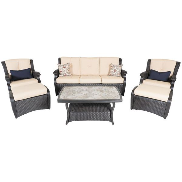 Fairmont 6 Piece Patio Set