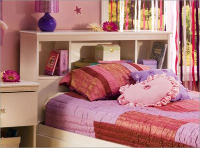 Picture of Crystal Bookcase Headboard